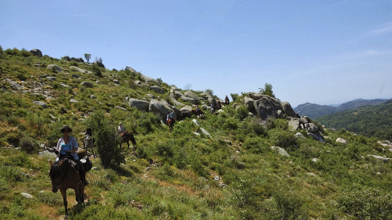 Back to Basic trektocht op Corsica
